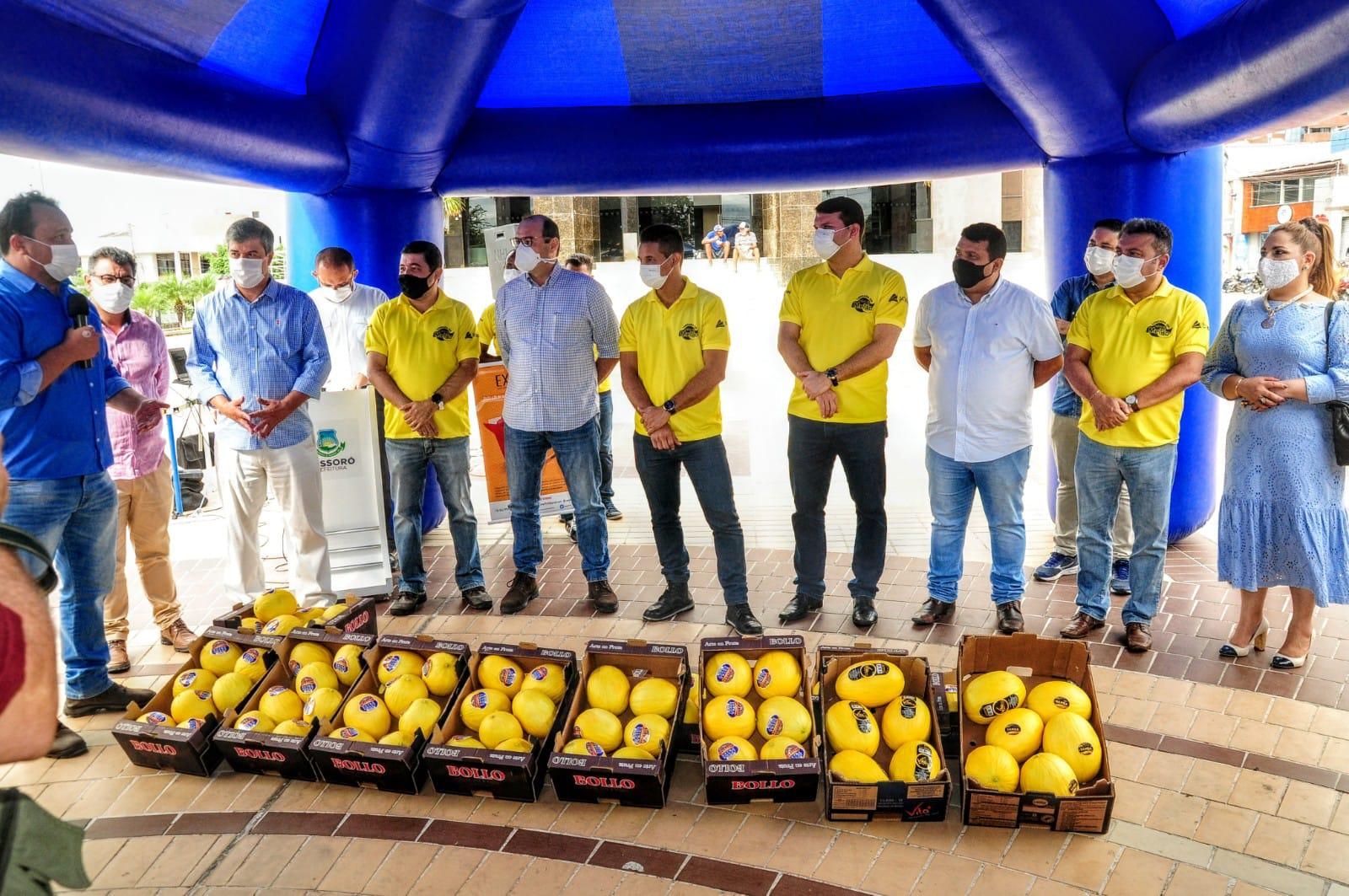 Evento marca início da safra do melão em Mossoró