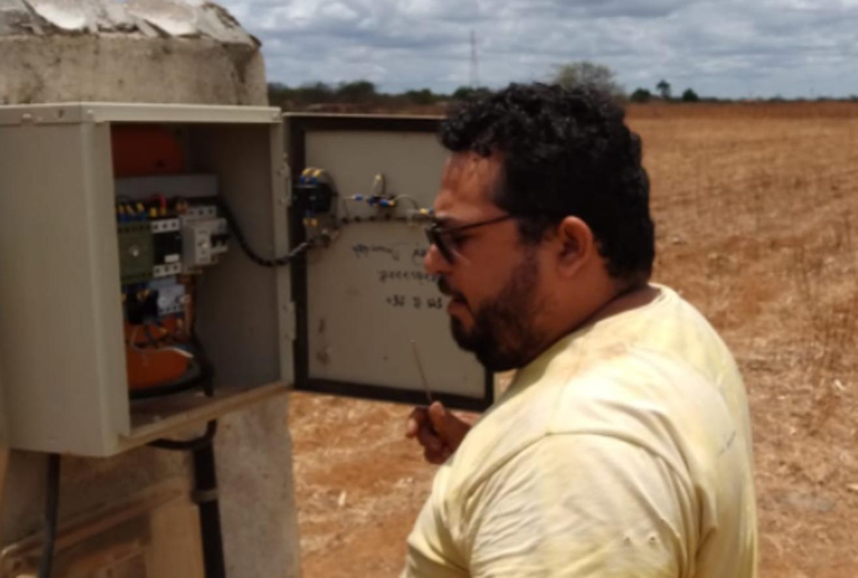 Secretaria realiza manutenção em poços e visita para consultoria técnica