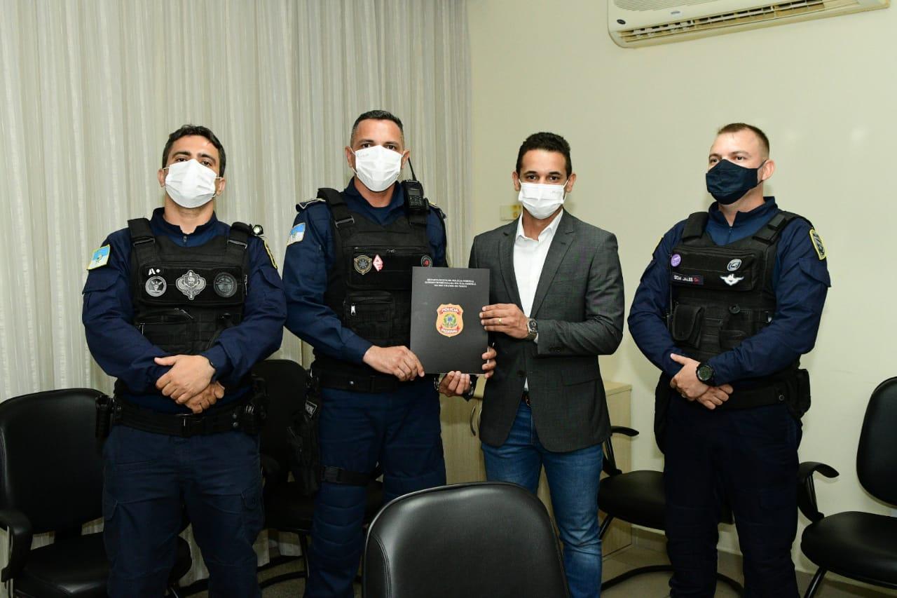 Processo para o porte de arma institucional da Guarda Municipal avança e chega à última fase