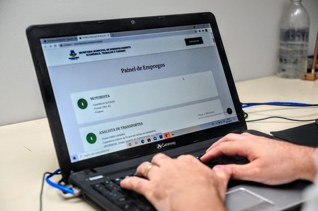 Painel de Empregos de Mossoró oferta mais 250 vagas em diversos cargos nesta sexta