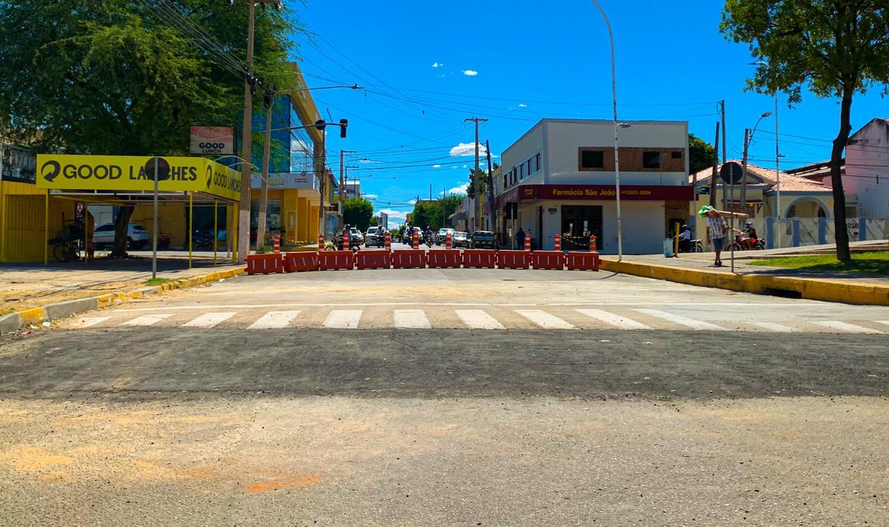 Obra na Avenida Felipe Camarão é concluída e trânsito será liberado nesta terça (20)