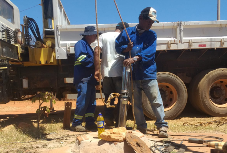 Seadru realiza manutenção em bombas na zona rural de Mossoró