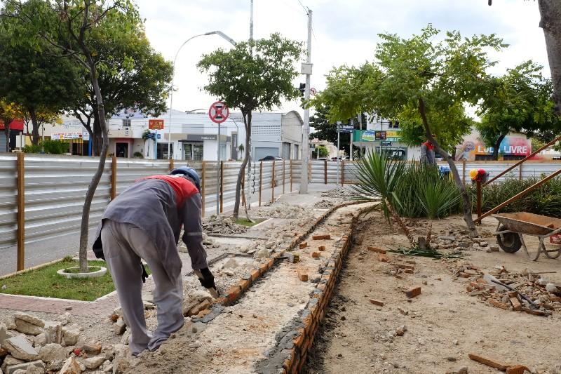 Obras de reforma e restauração do Memorial da Resistência avançam em ritmo acelerado