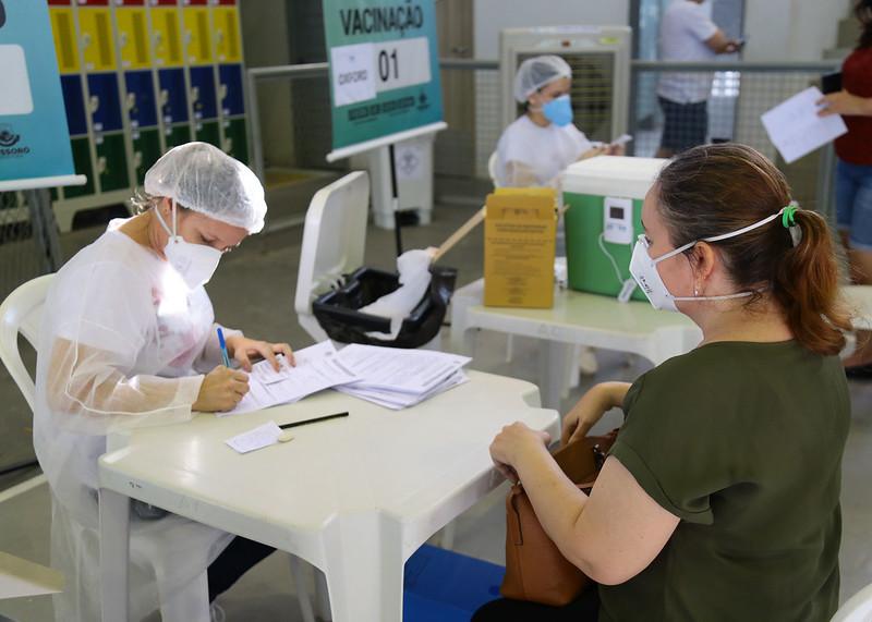 Mossoró Vacina: edição do fim de semana é encerrada com 4.667 doses aplicadas em 2 dias