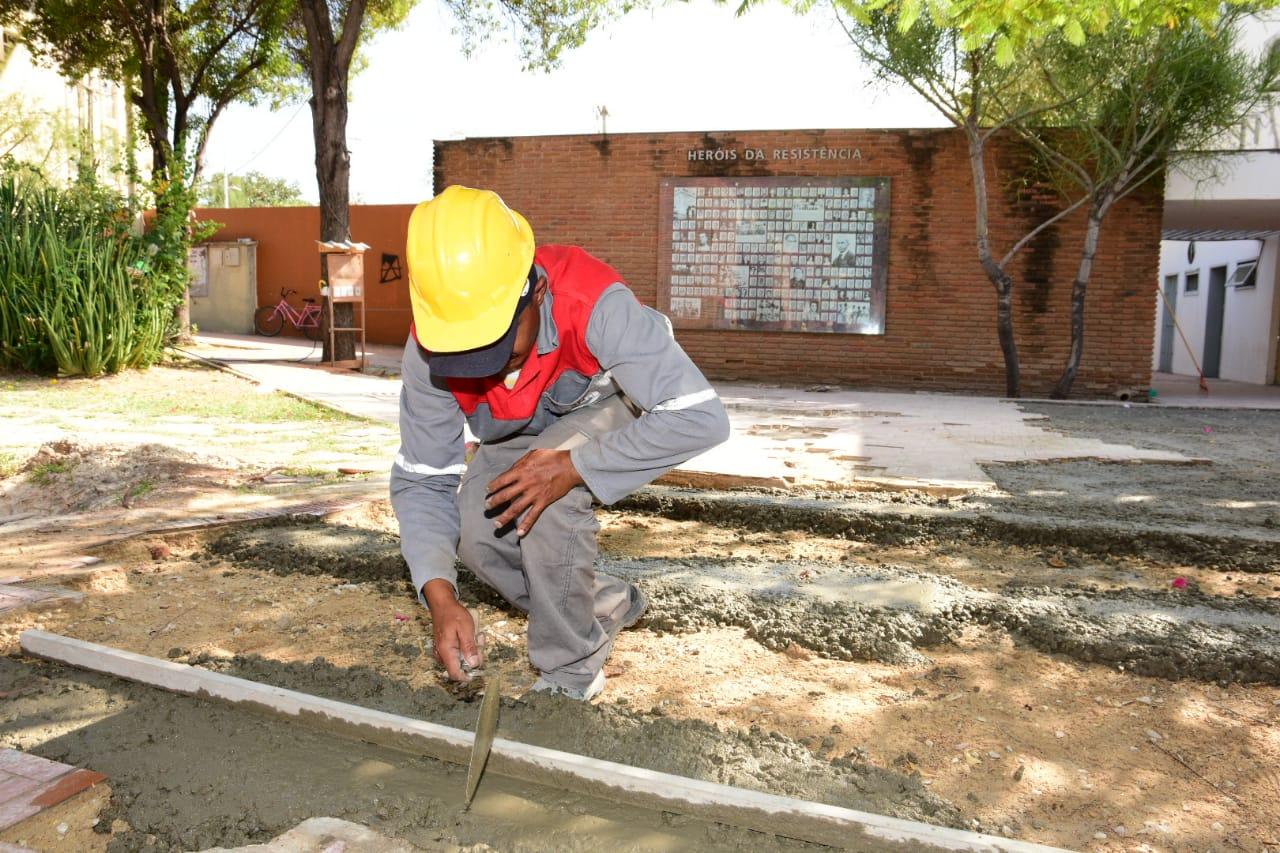 Prefeitura avança com obras no Memorial da Resistência de Mossoró
