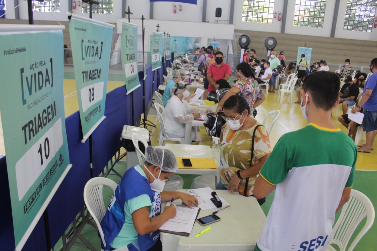 50% da população de Mossoró já está totalmente imunizada contra a Covid-19