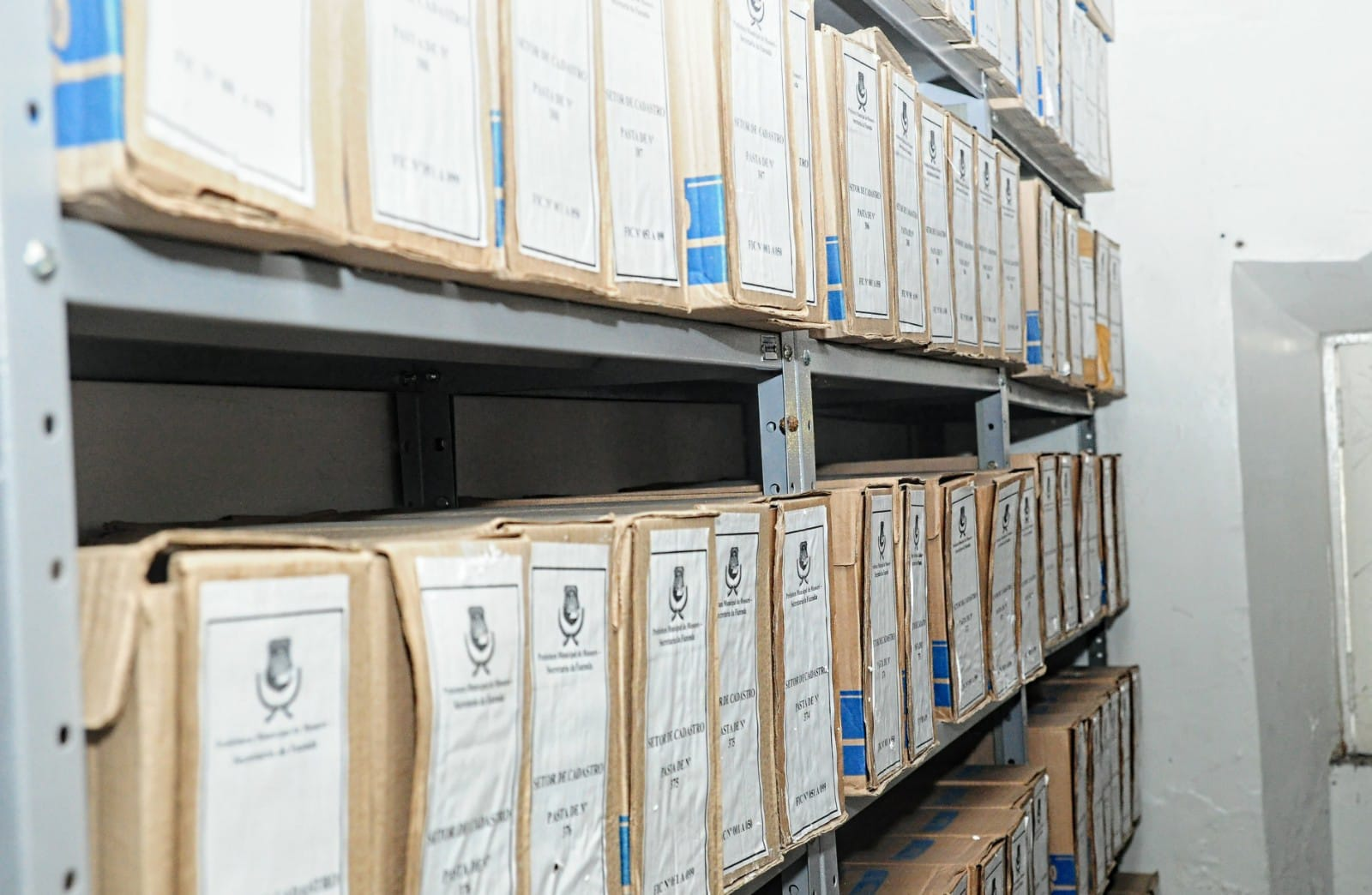 Secretaria da Fazenda cataloga e transfere arquivo passivo para o Arquivo Central