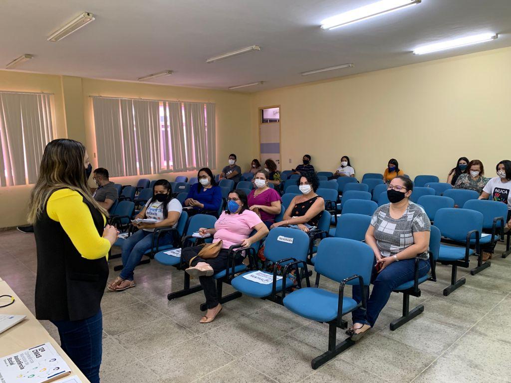 Secretaria reúne coordenadores e trabalhadores do SUAS sobre Censo 2021