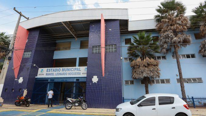 Estádio Leonardo Nogueira. (Foto: Allan Phablo - Secom/PMM)