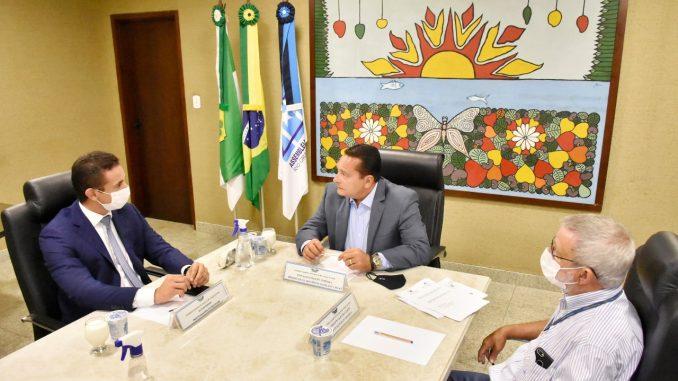 Allyson Bezerra se reúne com presidente Ezequiel Ferreira e equipe - Foto: João Gilberto (ALRN)
