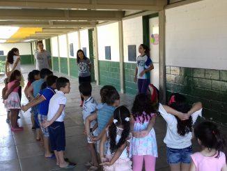 UEI Lúcia Maria Nogueira Mendes é uma das unidades que convocou pais de crianças que estavam aguardando vagas remanescentes Foto: Arquivo/PMM